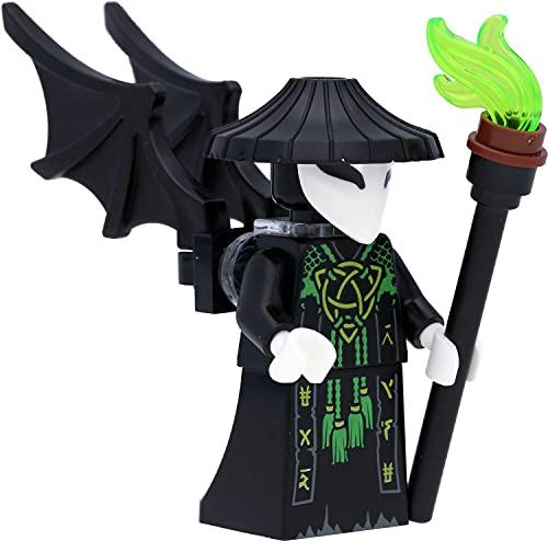 LEGO Ninjago Minifigur Totenkopfmagier / Skull Sorcerer mit Flügeln