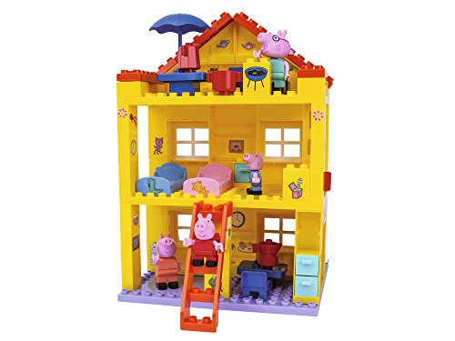 BIG-Bloxx Peppa Pig Haus - Peppa´s House, Construction Set, BIG-Bloxx...