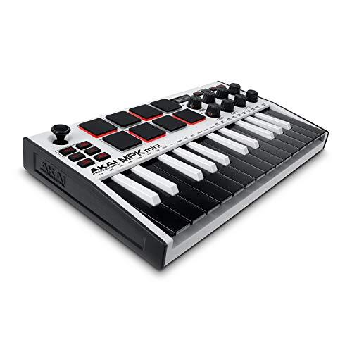 AKAI Professional MPK Mini MK3 White – 25-Tasten USB MIDI Keyboard...