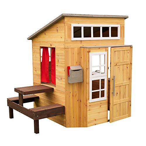 KidKraft 182 Gartenspielhaus Modernes Garten-Spielhaus...