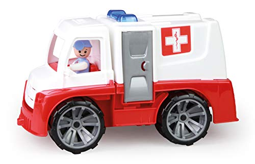 Lena 04456 - TRUXX Krankenwagen Einsatzfahrzeug mit Spielfigur als...