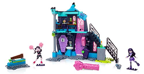 Monster High 'Mega Bloks School Fang Out Schule Play...