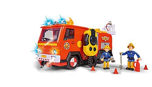 Simba 109251085 Feuerwehrmann Sam Ultimate Jupiter, Feuerwehrauto mit...