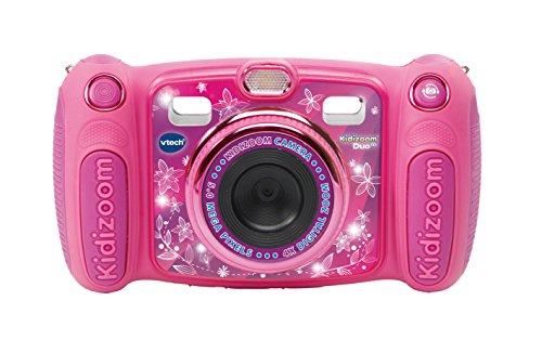 VtechKidizoom Duo 5.0Digitale Kamera für Kinder, 5MP, Farbdisplay, 2Objektive, Pink Englische Version...