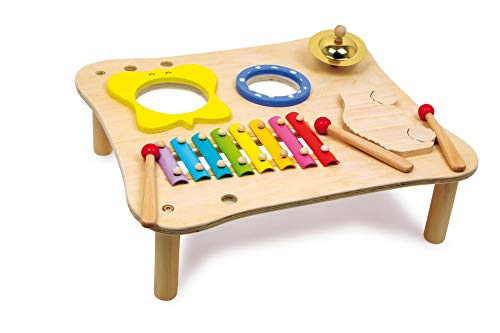 Small Foot 1166 Musiktisch aus Holz, inkl. Xylophon,...
