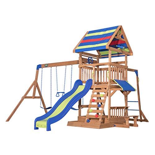 Backyard Discovery Spielturm Holz Northbrook   Spielplatz für Kinder...