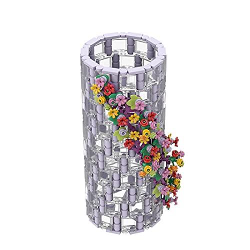 MSEI 473St DIY Vase für Lego Flower Bouquet 10280 Kit