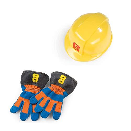 Simba Dickie 7600360162 The Builder Bob der Baumeister Handschuhe +...