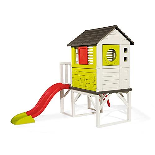 Smoby 810800 – Stelzenhaus - Spielhaus mit Rutsche,...