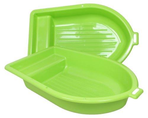 Ondis24 Sandkasten mit Deckel Kinderplanschbecken Boot Planschbecken...