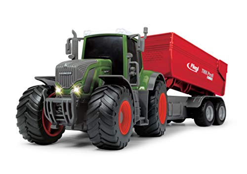 Dickie Toys 203737002 Fendt 939 Vario Spielzeugtraktor mit Fliegl...