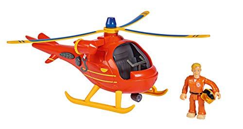 Simba 109251077 Fireman Feuerwehrmann Sam Hubschrauber Wallaby mit...