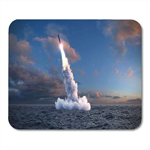 Mousepad Nuklear Der Start Der Ballistischen Rakete Aus...