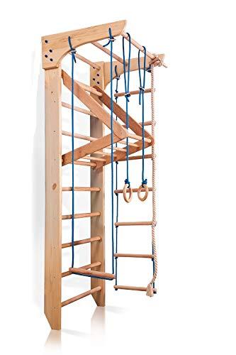 Sportgerät Kletterwand Klettergerüst Fitness Kinder-4-220 Holz...