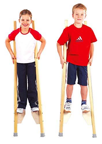 Sport-Thieme Kinderstelzen | Stelzen für Kinder bis 150 cm | Sicher,...