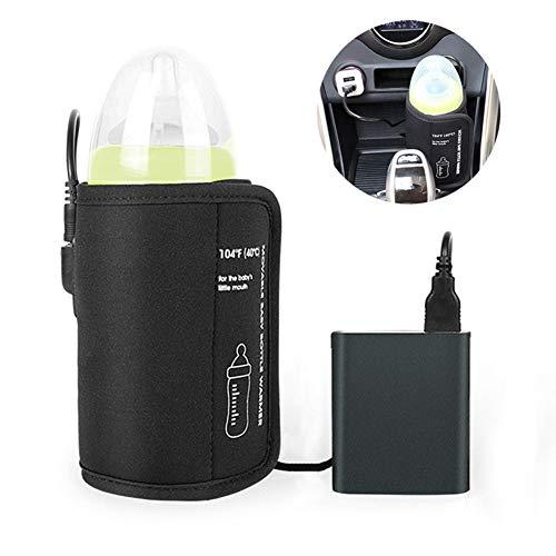 Tragbare Babyflaschenwärmer,Trpambvia USB Flasche Heizung Babyflasche...