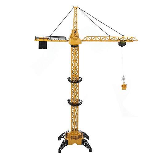 Dilwe Ferngesteuerter Turmkran Spielzeug, Höhe von 128 cm...