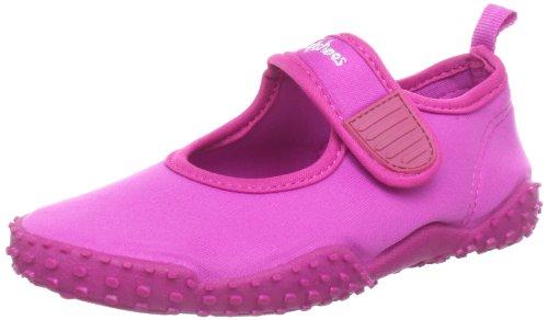 Playshoes Unisex-Kinder Aqua-Schuhe Klassisch, , Pink (Pink 18), 22/23