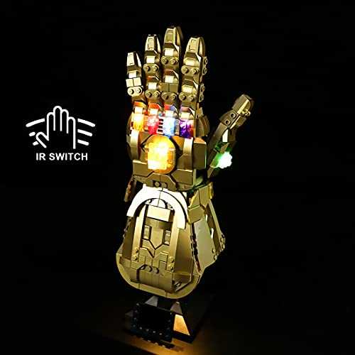 Hosdiy Beleuchtung Set Kompatibel mit Lego 76191 Marvel Infinity...