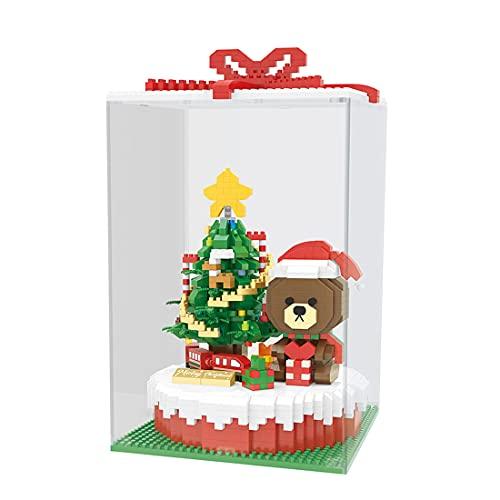 GUDA Weihnachten Bausatz,2666 Teile Klemmbausteine Weihnachtskuchen...