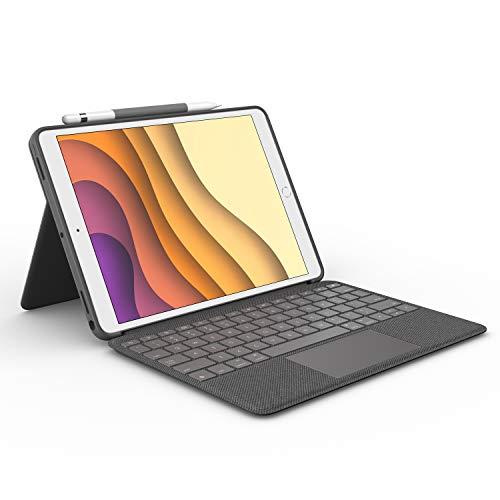 Logitech Combo Touch für iPad (7. Gen) A2200, A2197, A2198 und (8....