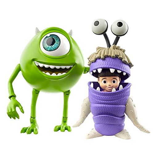 Disney Pixar GLX81 - Die Monsters AG Mike Glotzkovski & Buh Figuren
