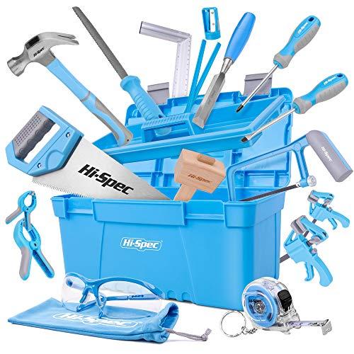 Hi-Spec 25-teiliges Werkzeugset für Anfänger mit Werkzeugkasten,...