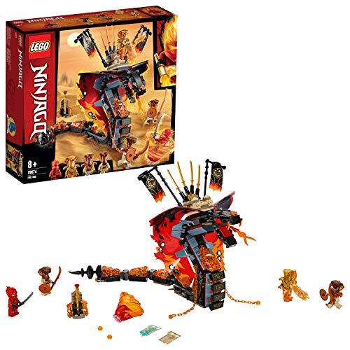 Lego 70674 NINJAGO Feuerschlange, Spielzeug für Kinder mit 4...