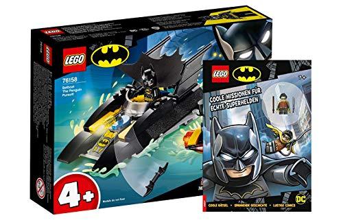 Lego DC Comics Super Heroes - Set: 76158 Verfolgung des Pinguins - mit...