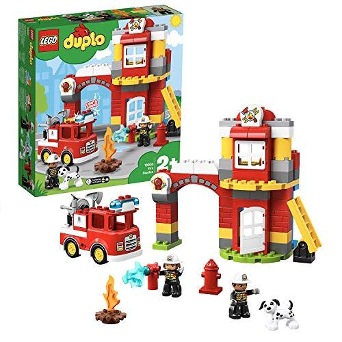 LEGO 10903 DUPLO Feuerwehrwache mit Feuerwehrauto und 2...