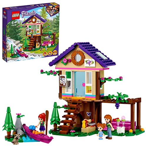 LEGO 41679 Friends Baumhaus im Wald, Spielzeug ab 6 Jahre, Haus mit...