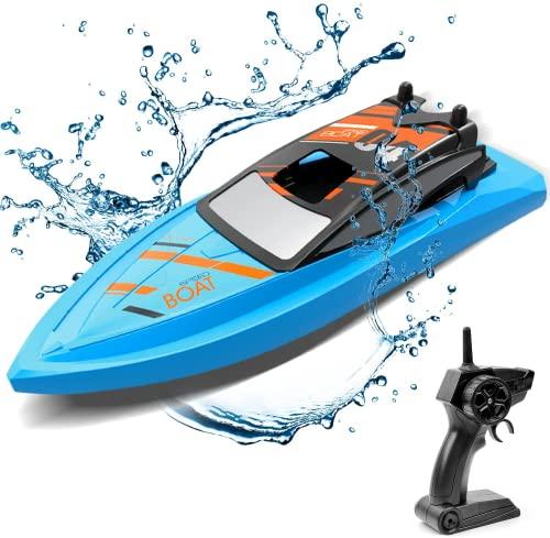 GizmoVine Ferngesteuertes Boot für Pools und Seen, 2.4 GHz RC Boot...