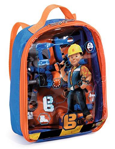 Smoby 360136 Bob der Baumeister Werkzeugrucksack, Blau