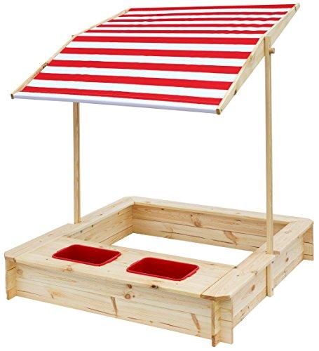 beluga Spielwaren 50380 -Sandkasten mit Wasser-Matsch-Bereich und...