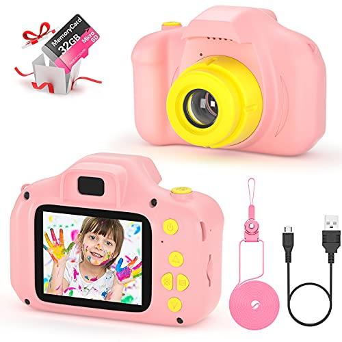 vatenick Kinder Digital Kamera Spielzeug Kleinkind Kamera Spielzeug 2...