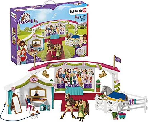 Schleich 42466 Horse Club Spielset - Große Pferdeshow , Spielzeug ab...