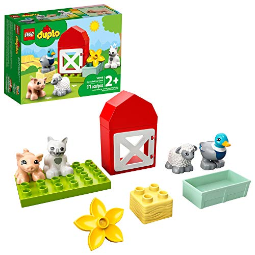 Lego Duplo Town Farm Animal Care 10949 Imaginative Build-and-Play Toy...