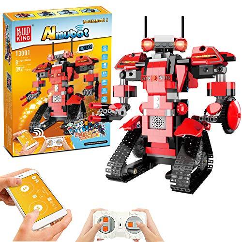 Bausteine RC Roboter, Kinder Fernbedienung STEM Roboter Toy...