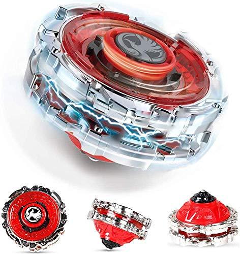 Innoo Tech 1 Stück Kampfkreisel Set, 4D Fusion Modell Metall Masters Beschleunigungslauncher, Speed Kreisel,...