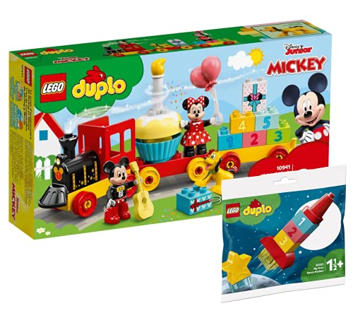 Collectix Lego Set - DUPLO Mickys und Minnies Geburtstagszug 10941 +...
