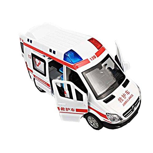 Black Temptation Weiße Kinder Spielzeug Krankenwagen Auto Modell Auto...