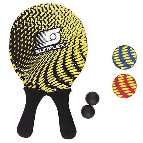 Sunflex Neopren Beachball Set Splash mit Zwei Schlägern und Zwei...