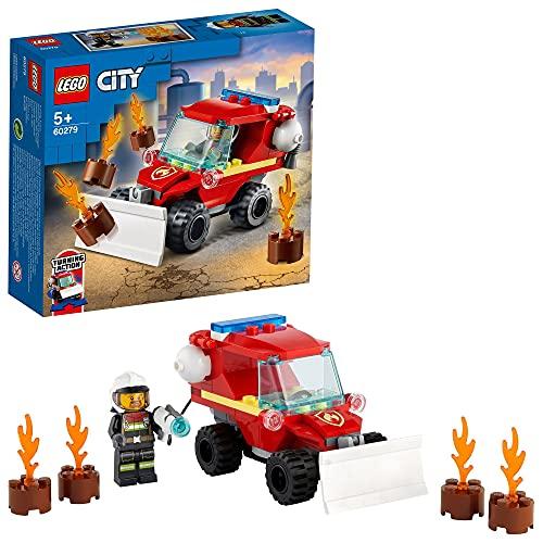 LEGO 60279 City Mini-Löschfahrzeug Spielzeug, Feuerwehrauto mit...