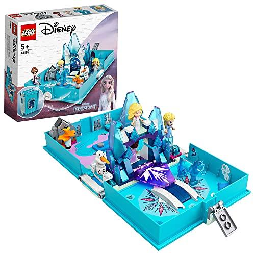 LEGO 43189 Disney Princess Frozen 2 Elsas Märchenbuch, tragbares...