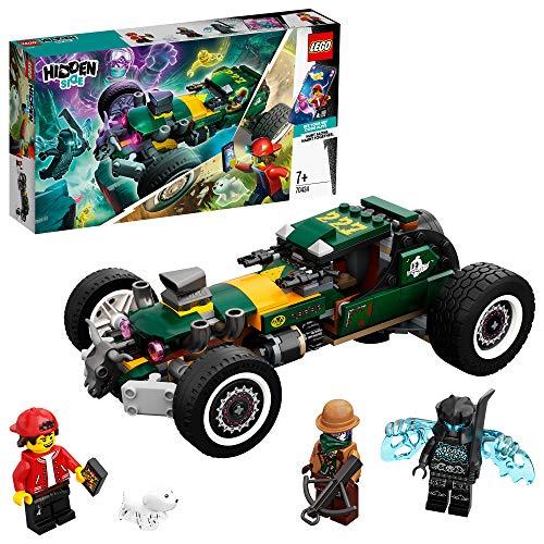 LEGO 70434 Hidden Side Übernatürlicher Rennwagen, Spielzeug, AR Games App, interaktives Multiplayer...