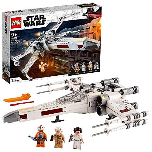 LEGO 75301 Star Wars Luke Skywalkers X-Wing Fighter Spielzeug mit...