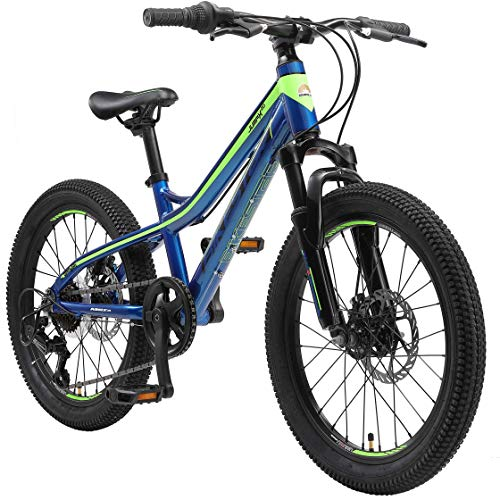 BIKESTAR Alu Mountainbike Jugendfahrrad 20 Zoll ab 6-9 Jahre Hardtail...