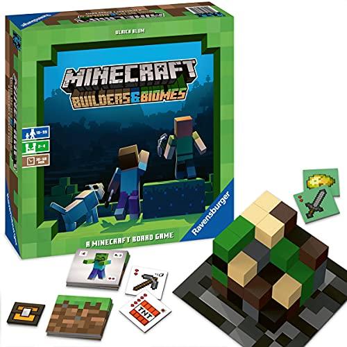 Ravensburger Familienspiel 26132 - Minecraft Builders & Biomes -...