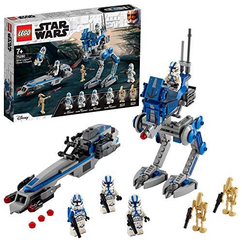LEGO 75280 Star Wars Clone Troopers der 501. Legion, Bauset.-Agent, Bauset