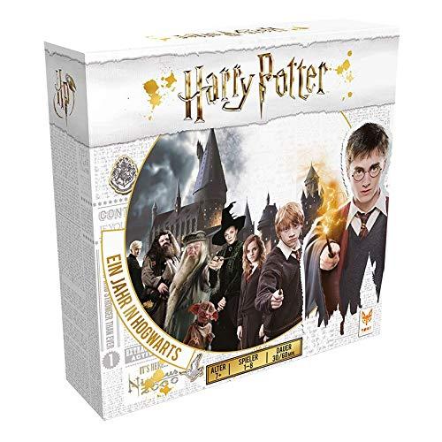 Asmodee Harry Potter Ein Jahr in Hogwarts, Familienspiel,...